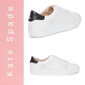 New Kate Spade Perforated Ashlynn Leather. Sneaker